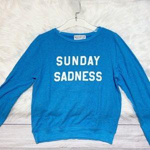 [Wildfox] NWT Sunday Sadness Sweatshirt